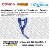 Hurricane Headers Suitable For Accord 1500-1600cc 1977-1981