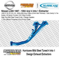 Hurricane Headers Suitable For L300 2.0L 2.4L 4G63-4G64 Sirius Motor