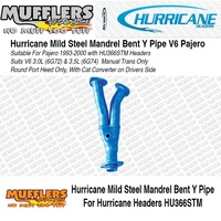 Hurricane Y Pipe Suitable For Pajero 6cyl 3.0L (6G72) & 3.5L (6G74)