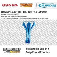 Hurricane Headers Suitable For Prelude 1.8L 1983-1987 Non VTEC