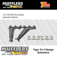 Tiger Headers Suitable For Landcruiser HZJ75 4.2L 1HZ 6cyl